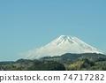 從新幹線看到的富士山 74717282