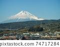 從新幹線看到的富士山 74717284