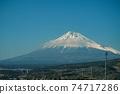 從新幹線看到的富士山 74717286