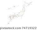 日本地圖 74719322