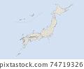 日本地圖 74719326