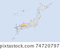 日本地圖 74720797