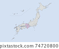 日本地圖 74720800