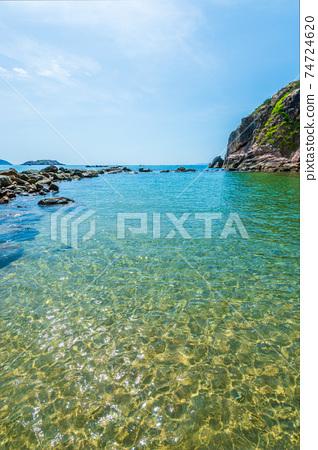 越南歸仁亞洲美麗的海灘 74724620