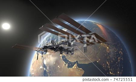 太空飛船 74725551