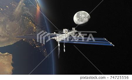 太空飛船 74725556