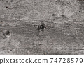 gray old wooden board. background 74728579