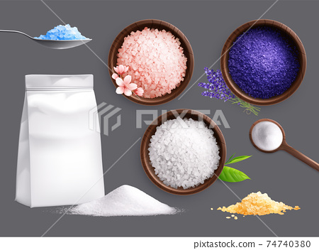 Spa Salt Realistic Collection 74740380