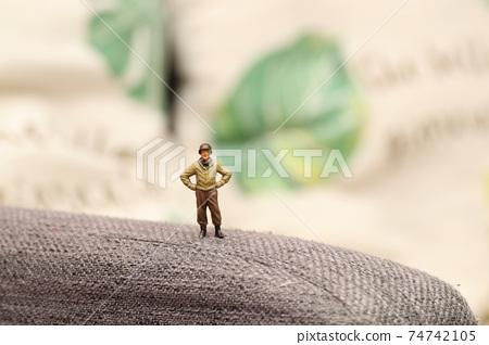 Soldier during break 74742105