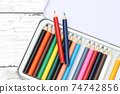 彩色的鉛筆 74742856
