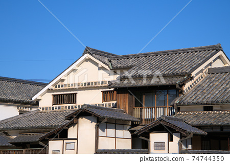 중요 문화재 대교 주택 건물 오카야마 현 쿠라 시키시 74744350