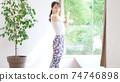 Women stretching 74746898