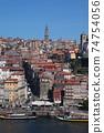 포르투의 거리 풍경 74754056