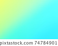藍色/綠色背景材料漸變 74784901
