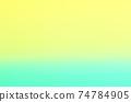 黃色/綠色背景材料漸變 74784905
