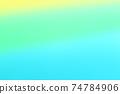 藍色/綠色背景材料漸變 74784906