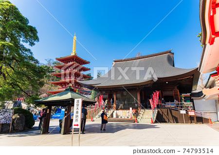 도쿄 高幡不動 존 金剛寺 不動堂과 오층탑 74793514