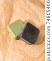 Solid shampoo soap conditioner bar, natural body care eco friendly products 74805466