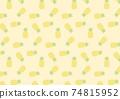 菠蘿圖案背景圖 74815952