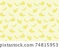 香蕉圖案背景圖 74815953