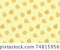 橙色圖案背景圖 74815956
