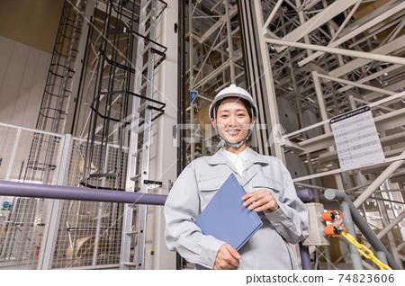 三維自動倉庫/自動會計設備 74823606