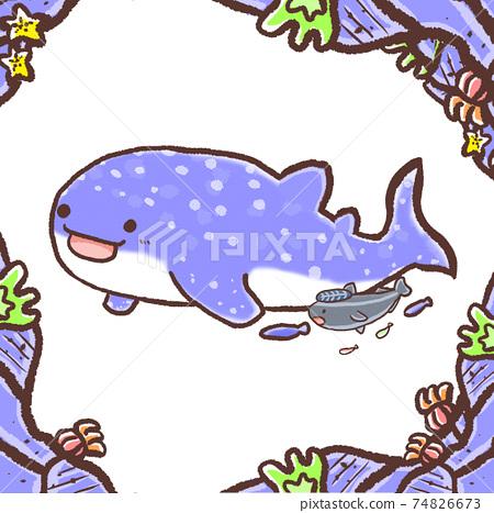 R:更多童話水族館☆壁紙鯨鯊和Re魚 74826673