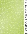 日式背景圖日式紙上的櫻花圖案黃綠色係其他可用的顏色 74829334