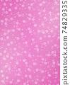 日本圖案背景圖日本紙和紮染和櫻花圖案圖案粉紅係其他可用的顏色 74829335
