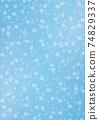 日本圖案背景圖日本紙與紮染和櫻花圖案圖案藍色和其他顏色 74829337