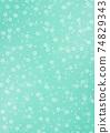 日本圖案背景圖日本紙與紮染和櫻花圖案圖案綠色和其他顏色 74829343
