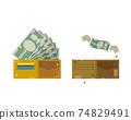 Rich wallet and poor wallet 74829491