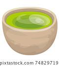 深綠茶 74829719
