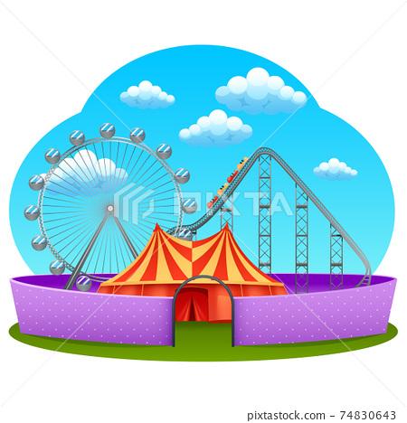 Amusement Part Concept 74830643