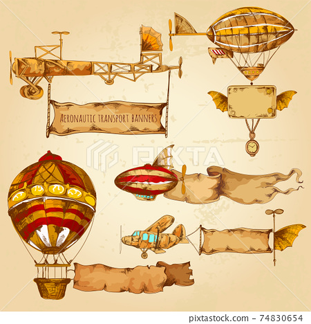 Airships With Banners 74830654