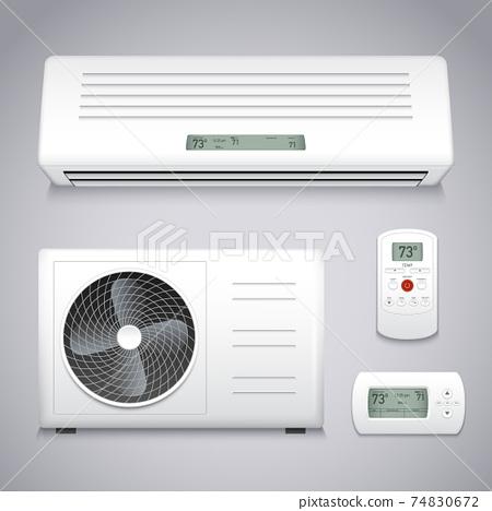Air Conditioner Set 74830672