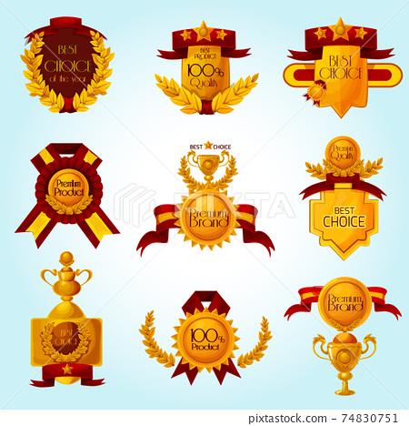 Award Sale Emblems 74830751