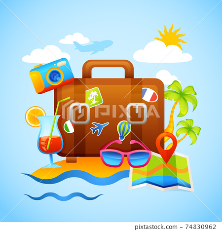 Vacation And Tourism Concept 74830962