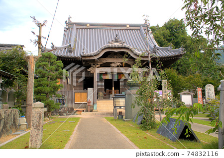 [새로운 시코쿠 만다라 영지] 첫째 번 동림 원 大師堂 도쿠시마 현 나루토시 74832116