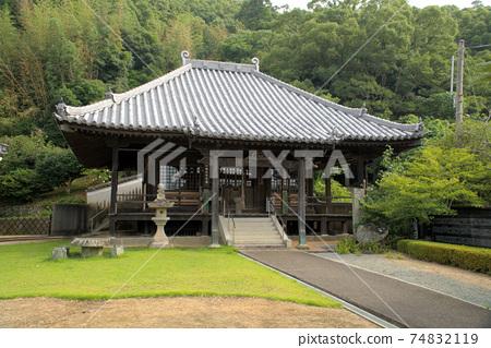 [새로운 시코쿠 만다라 영지] 둘째 번 長 谷 寺의 관음 도쿠시마 현 나루토시 74832119