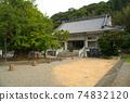 [New Shikoku Mandala Sacred Ground] No. 2 Hase-dera Main Hall and Daiginko, Naruto City, Tokushima Prefecture 74832120