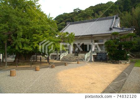 [새로운 시코쿠 만다라 영지] 둘째 번 長 谷 寺의 본당과 대형 은행 도쿠시마 현 나루토시 74832120