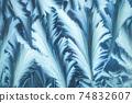 Window frost pattern 74832607