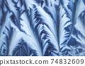Window frost pattern 74832609