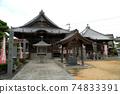 [Shikoku 36 Fudo Sacred Ground] No. 13 Main Hall and Daishido of Mitsugonji Temple, Tokushima City, Tokushima Prefecture 74833391