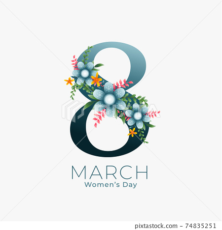 march 8th background for women's day 74835251