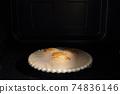 냉동 튀김의 레인지 가열 74836146