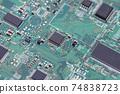 印刷電路板電控程序電控工程師形象 74838723