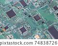 印刷電路板電控程序電控工程師形象 74838726