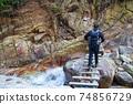後山步道上的Gozaisho山步道橋 74856729